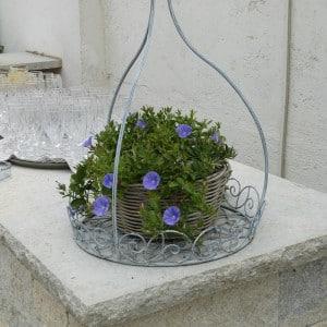 Servus Hochzeitsband Impressionen - Sektgläser mit Blumendeko