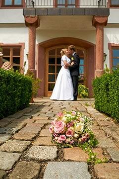 Servus Hochzeitsband Impressionen - romantisches Paarfoto