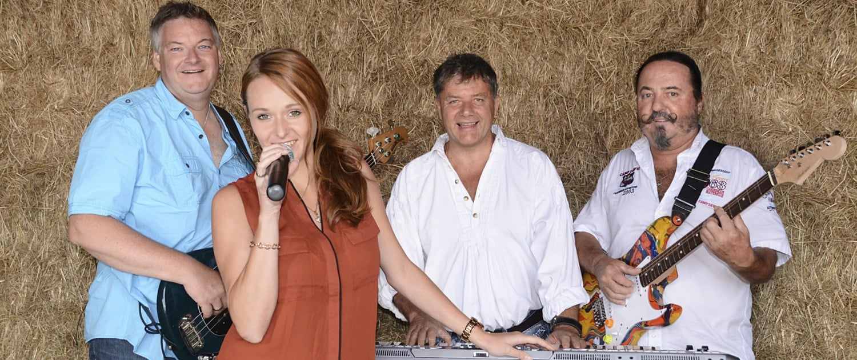 Servus Partyband - offizielles Foto Quartett