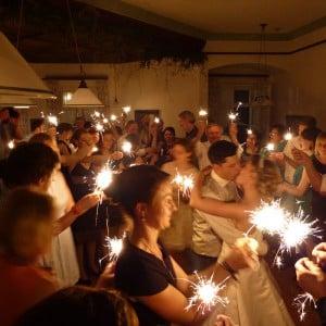 Servus Hochzeitsband Impressionen - Sternwerfer