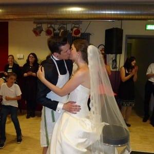 Servus Hochzeitsband Impressionen - Brautpaar Spiele