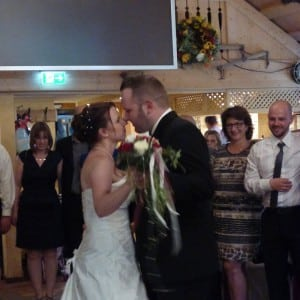 Servus Hochzeitsband - Impressionen Brautwalzer mit Strauß