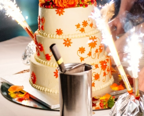 Hochzeitsimpressionen - Hochzeitstorte